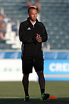 16 April 2016: Carolina assistant coach Dewan Bader. The Carolina RailHawks hosted Ottawa Fury FC at WakeMed Stadium in Cary, North Carolina in a 2016 North American Soccer League Spring Season game. Carolina won the match 1-0.
