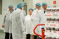 King Philippe & Queen Mathilde Belgium visit 'Wase Werkplaats' atelier :  Belgium
