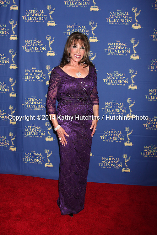 LOS ANGELES - JUN 20:  Kate Linder at the 2014 Creative Daytime Emmy Awards at the The Westin Bonaventure on June 20, 2014 in Los Angeles, CA