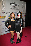 "Adult Film Actresses Skin Diamond and Asphyxia Attend EXXXOTICA 2013 1st Ever Fan Appreciation Awards ""The Fannys"" Pink Carpet Arrvials Held At The Taj Mahal Atlantic City, NJ"