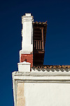 Tercera Orden Church tower and balcony (1628)., Cartagena de Indias, Bolivar Department,, Colombia, South America.