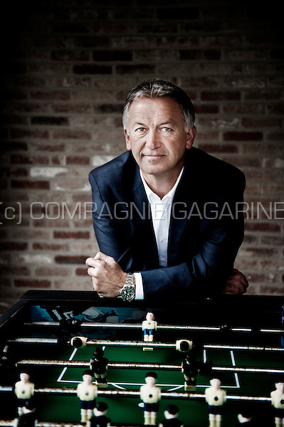 Belgian retired footballer Marc Degryse (Belgium, 21/03/2014)