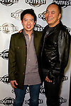 QUENTIN LEE, CHRIS LEE. Arrivals to a screening of The People I've Slept With, presented by Outfest as part of Fusion: the Los Angeles LGBT People of Color Film Festival. Hollywood, CA, USA. March 13, 2010.