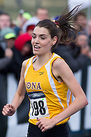 Iona's Kate Avery (198) runs to victory in the women's race during the NCAA Cross Country Championships in Terre Haute, Ind. on Saturday, Nov. 22, 2014. (James Brosher, Special to the Denver Post)