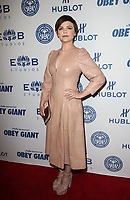 LOS ANGELES, CA - NOVEMBER 7: Ginnifer Goodwin, at Photo Op For Hulu's 'Obey Giant at the The Theatre at Ace Hotel in Los Angeles, California on November 7, 2017. <br /> CAP/MPI/FS<br /> &copy;FS/MPI/Capital Pictures