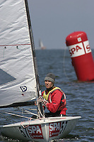 20th SPA Regatta - Medemblik.26-30 May 2004..Copyright free image for editorial use. Please credit Peter Bentley..Maarit Multala - FIN