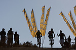The MTN hotspot during stage three of the 2010 Absa Cape Epic Mountain Bike stage race from Ceres to Ceres in the Western Cape, South Africa on the 23 March 2010.Photo by Karin Schermbrucker/SPORTZPICS