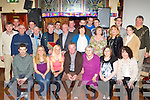 Jerry O'Sullivan, Castleisland seated centre who celebrated his retirement from Griffin Construction, Castleisland with his family and friends on Saturday night in the Kingdom House bar......