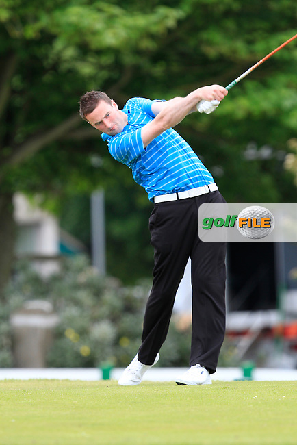 Barry Anderson (The Royal Dublin) on the 1st during Round 4 of the East of Ireland in the Co. Louth Golf Club at Baltray on Monday 2nd June 2014.<br /> Picture:  Thos Caffrey / www.golffile.ie