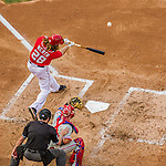 6 September 2014: Washington Nationals outfielder Jayson Werth in action against the Philadelphia Phillies at Nationals Park in Washington, DC. The Nationals fell to the Phillies 3-1 in the second game of their 3-game series. Mandatory Credit: Ed Wolfstein Photo *** RAW (NEF) Image File Available ***