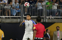 Houston, TX - June 21, 2016: The U.S. Men's National team go down 0-4 to Argentina in Semifinal play at the 2016 Copa America Centenario at NRG Stadium.