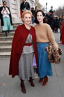 NEW YORK, NY - FEBRUARY 11: Carolina Herrera and  Patricia Cristina Herrera  seen at Carolina Herrera NYFW 2019 on February 11, 2019 in New York City. Credit: DC/MediaPunch
