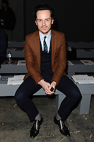 Andrew Scott at front row for the TOPMAN Designs show as part of London Collections Men AW14, London.  06/01/2014 Picture by: Steve Vas / Featureflash