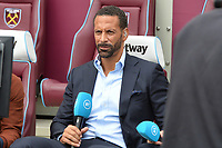Rio Ferdinand and Joe Cole on BT Sports during West Ham United vs Manchester City, Premier League Football at The London Stadium on 10th August 2019
