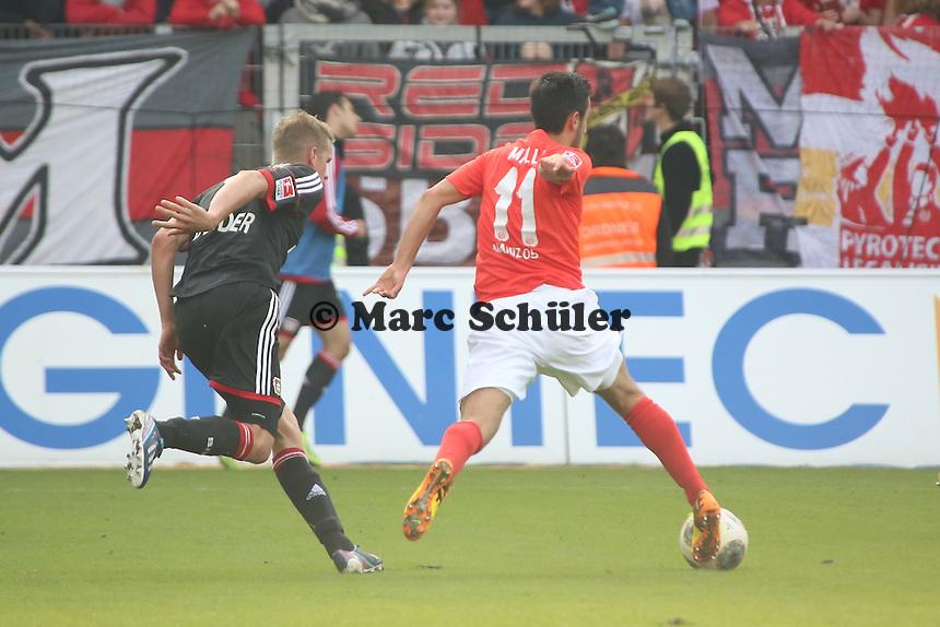 Yunus Malli (Mainz) - 1. FSV Mainz 05 vs. Bayer 04 Leverkusen, Coface Arena, 6. Spieltag