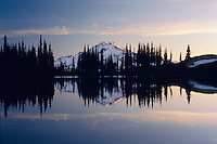 Glacier Peak from Image Lake<br />