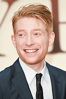 Domhnall Gleeson<br /> arriving for the World Premiere of &quot;Goodbye Christopher Robin&quot; at the Odeon Leicester Square, London<br /> <br /> <br /> &copy;Ash Knotek  D3311  20/09/2017