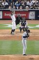 Ichiro Suzuki (Yankees), Hisashi Iwakuma (Mariners),.MAY 15, 2013 - MLB :.Hisashi Iwakuma of the Seattle Mariners pitches to Ichiro Suzuki of the New York Yankees in the fourth inning during the baseball game at Yankee Stadium in The Bronx, New York, United States. (Photo by AFLO)