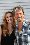 "Days of Our Lives and The Nanny - Charles Shaughnessy (R) stars with Rachel York as ""King Arthur"" and ""The Lady of the Lake"" ) in Monty Python's Spamalot - a new musical lovingly ripped off from the motion picture Monty Python and the Holy Grail on September 9, 2010 at the Ogunquit Playhouse, Ogunquit, Maine. Former President George W. Bush and his wife Barbara came to see the musical and signed the poster. (See names under Charles's face and the President's is in the Holy Grail.) (Photo by Sue Coflin/Max Photos)"