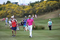 Rafa Cabrera-Bello (ESP) heading down the 3rd during Round Three of the 2015 Alstom Open de France, played at Le Golf National, Saint-Quentin-En-Yvelines, Paris, France. /04/07/2015/. Picture: Golffile | David Lloyd<br /> <br /> All photos usage must carry mandatory copyright credit (© Golffile | David Lloyd)