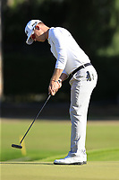 Brandon Stone (RSA) putts on the 6th green during Saturday's Round 3 of the 2018 Turkish Airlines Open hosted by Regnum Carya Golf &amp; Spa Resort, Antalya, Turkey. 3rd November 2018.<br /> Picture: Eoin Clarke | Golffile<br /> <br /> <br /> All photos usage must carry mandatory copyright credit (&copy; Golffile | Eoin Clarke)