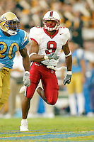 Chijioke Asomugha during Stanford's 28-18 loss to UCLA on October 26, 2002 in Los Angeles, CA.<br />