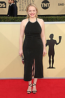 LOS ANGELES, CA - JANUARY 21: Elisabeth Moss at The 24th Annual Screen Actors Guild Awards at The Shrine Auditorium on January 21, 2018 in Los Angeles, California. Credit: FSRetna/MediaPunch