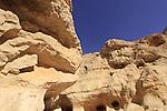 Israel, Negev, rock formations in Nekarot Horseshoe