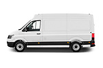 Car Driver side profile view of a 2020 Man TGE - 4 Door Refrigerated Van Side View