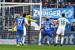 11.05.2019, PreZero Dual Arena, Sinsheim, GER, 1. FBL, TSG 1899 Hoffenheim vs. SV Werder Bremen, <br /> <br /> DFL REGULATIONS PROHIBIT ANY USE OF PHOTOGRAPHS AS IMAGE SEQUENCES AND/OR QUASI-VIDEO.<br /> <br /> im Bild: Parade von Jiri Pavlenka (#1, SV Werder Bremen)<br /> <br /> Foto &copy; nordphoto / Fabisch