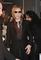 NEW YORK, NY-November 03: Yoshiki at The Inaugural Critics Choice Documentary Awards at  BRIC | 647 Fulton St, Brooklyn, New York .November 03, 2016. Credit:RW/MediaPunch