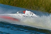 """Tom Thompson, A-52 """"Fat Chance IV"""", 2.5 Mod hydroplane"""