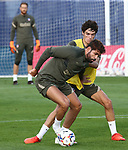 Atletico de Madrid's Diego Costa during training session. September 18,2020.(ALTERPHOTOS/Atletico de Madrid/Pool)