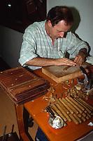 Spanien, Kanarische Inseln, Gran Canaria, Las Palmas, Zigarrenmacher