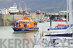 The blessing of the boats pictured at the Fenit Regatta on Sunday.