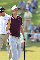 Ross Fisher (ENG) putts on the 15th green during Friday's Round 2 of the 2017 PGA Championship held at Quail Hollow Golf Club, Charlotte, North Carolina, USA. 11th August 2017.<br /> Picture: Eoin Clarke | Golffile<br /> <br /> <br /> All photos usage must carry mandatory copyright credit (&copy; Golffile | Eoin Clarke)