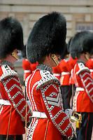 Changing of the Guard, Buckingham Palace, London, England.