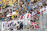 Japan Fans, <br /> AUGUST 6, 2016 - /Rugby : <br /> Women's Pool Round Pool C <br /> between  Great Britain 0-40 Japan Women's <br /> at Deodoro Stadium <br /> during the Rio 2016 Olympic Games in Rio de Janeiro, Brazil. <br /> (Photo by Yusuke Nakanishi/AFLO SPORT)