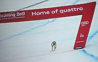 09.02.2013, Planai, Schladming, AUT, FIS Weltmeisterschaften Ski Alpin, Abfahrt, Herren, im Bild Aksel Lund Svindal (NOR) // Aksel Lund Svindal of Norway after Mens Downhill at the FIS Ski World Championships 2013 at the Planai Course, Schladming, Austria on 2013/02/09. EXPA Pictures © 2013, PhotoCredit: EXPA/ Sandro Zangrando .Schladming 9/2/2013 .Mondiali Sci 2013.Discesa Libera Uomini .Foto Insidefoto - ITALY ONLY