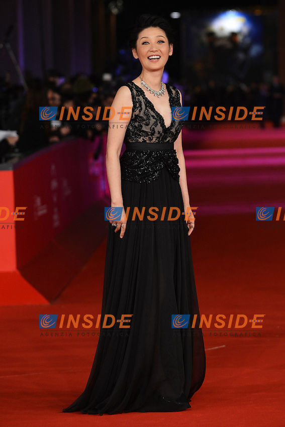 "Actress  Xu Fan - Movie ""1942"".Roma 9/11/2012 Auditorium.Festival del Cinema di Roma.Foto Guido Aubry Elipics"