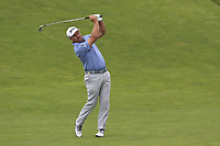 Graeme McDowell (NIR) plays his 2nd shot on the 9th hole during Thursday's Round 1 of the 118th U.S. Open Championship 2018, held at Shinnecock Hills Club, Southampton, New Jersey, USA. 14th June 2018.<br /> Picture: Eoin Clarke | Golffile<br /> <br /> <br /> All photos usage must carry mandatory copyright credit (&copy; Golffile | Eoin Clarke)