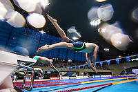 Picture by Alex Whitehead/SWpix.com - 15/04/2015 - British Swimming Championships 2015 - London Aquatics Centre, Queen Elizabeth Park, England - Jarvis Parkinson wins Gold in the Mens Junior EG 200m IM - Final