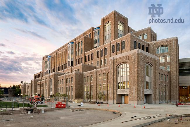 June 20, 2017; Duncan Student Center nearing completion, June 2017 (Photo by Matt Cashore/University of Notre Dame)