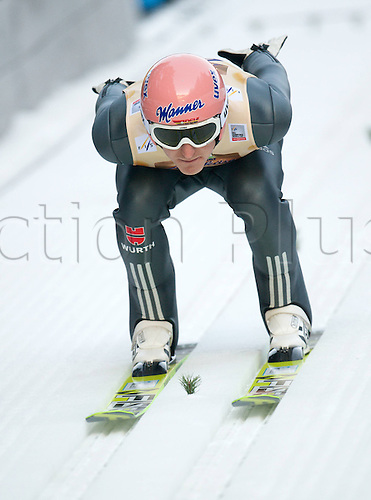 13.12.2013 Titisee-Neustadt Germany. Mens World Cup Ski-Jumping Training and Qualification. FREUND Severin (GER)