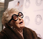 Elaine Stritch attends the 'Elaine Stritch: Shoot Me' screening at The Paley Center For Media on February 19, 2014 in New York City.