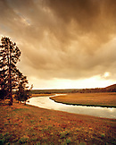 USA, Wyoming, Nez Pearce Creek landscape, Yellowstone National Park