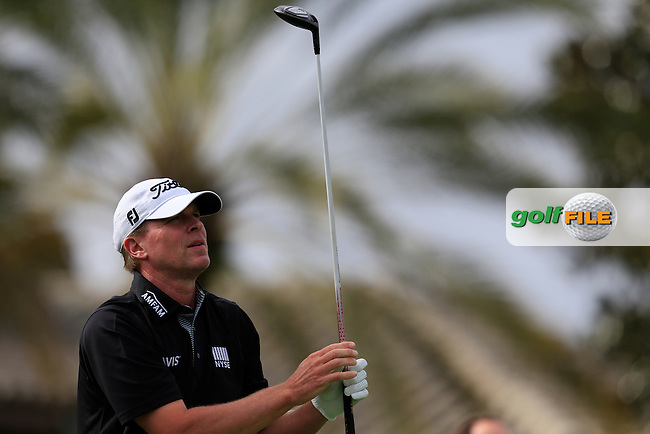 Steve Stricker (USA) during round 4 of the Hero World Challenge, Isleworth Golf &amp; Country Club, Windermere, Orlando Florida, USA. 07/12/2014<br /> Picture Fran Caffrey, www.golffile.ie