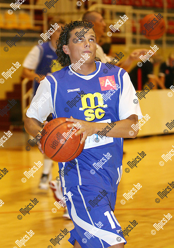 2010-08-17 / Seizoen 2010-2011 / Basketbal / Sint Jan / Ashley Druwez..Foto: mpics