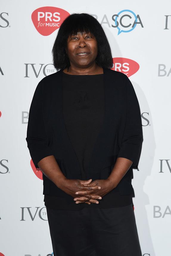Joan Armatrading<br /> at The Ivor Novello Awards 2017, Grosvenor House Hotel, London. <br /> <br /> <br /> ©Ash Knotek  D3267  18/05/2017