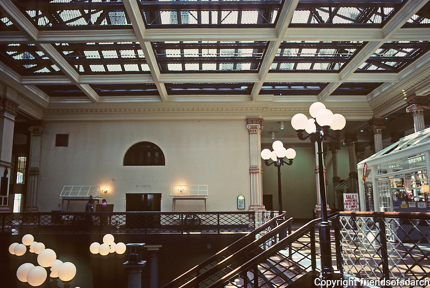 St. Louis: Old Post Office and Customs House--renovation. Patty Berkebile Nelson and Assoc./Harry Weese & Assoc. Photo '88.